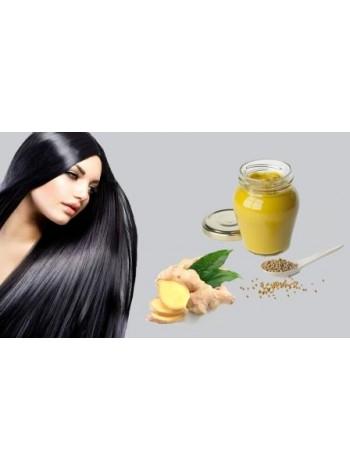 Маска-активатор роста волос Горчица и Имбирь