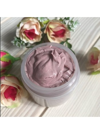 Готовая маска на основе глины для всех типов кожи Розовая